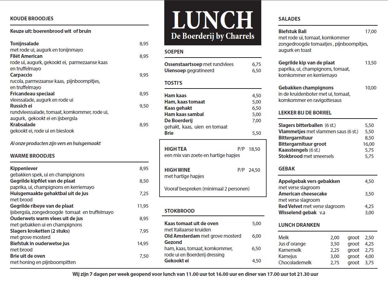 Boerderij-Charrels-Lunchkaart